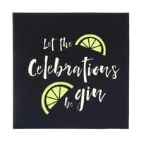 Gin Pop-Up Card | Free Handwriting & Send Service | UK Delivery